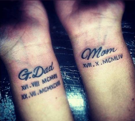 Tatuajes en muñecas