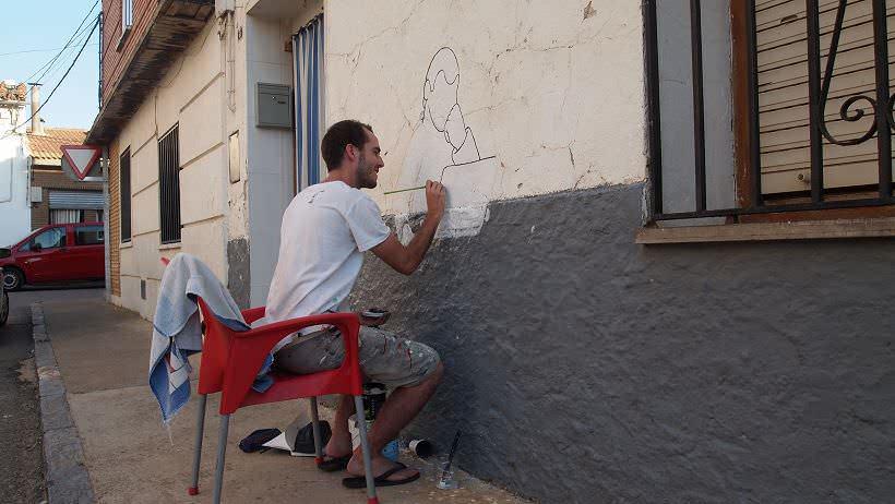 Mural Javier de Riba Alfamen