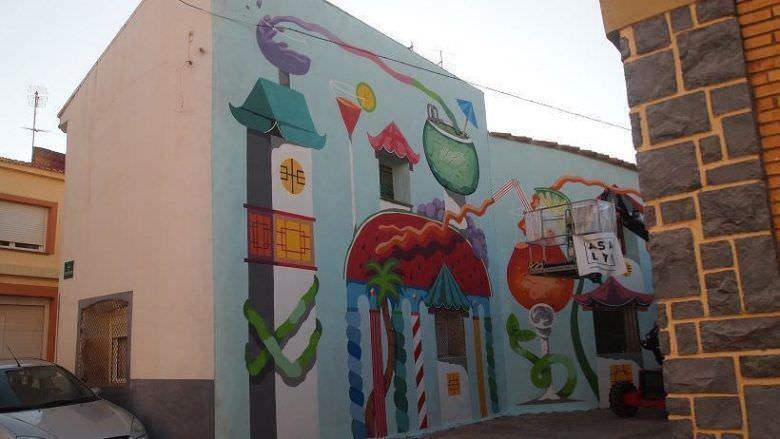 Koctel mural alfamen