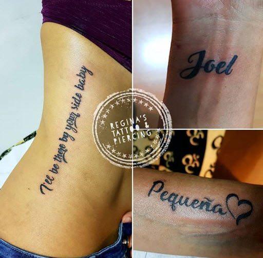Tatuajes de palabras y frases